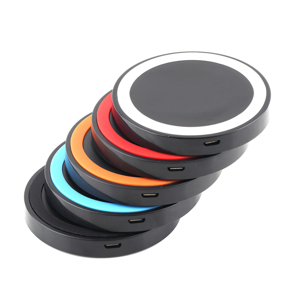 Multi Color Portable Universal Qi Wireless Power Charging Charger Pad For Mobile Phone for iPhone 6(China (Mainland))
