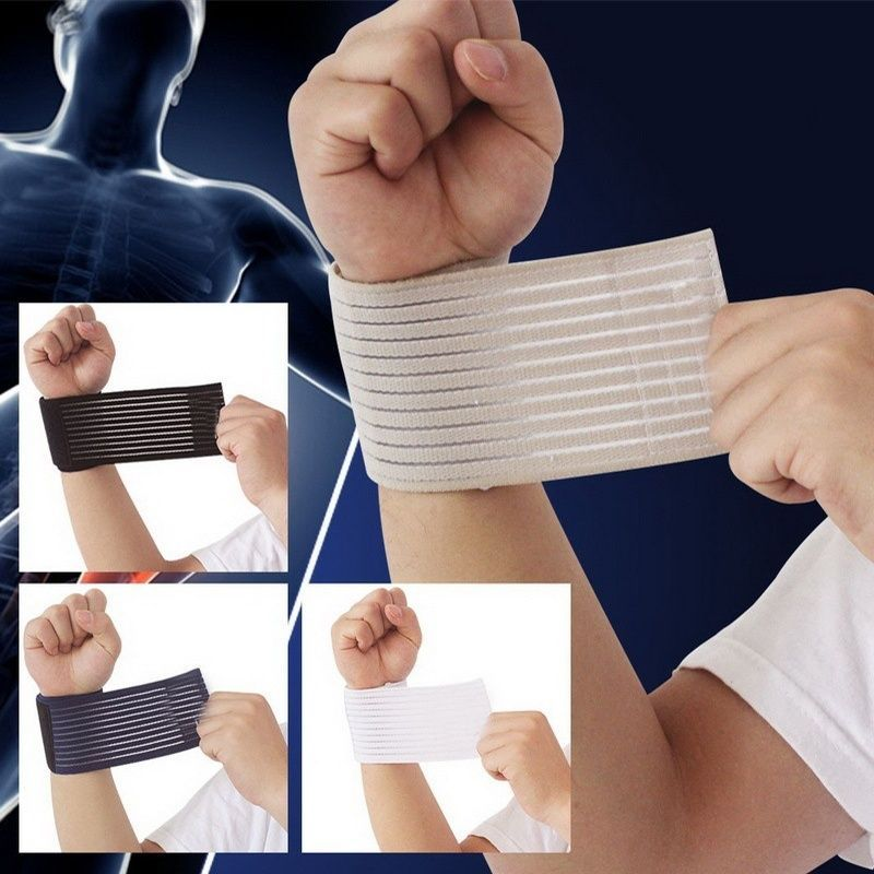 Fitness Cotton Strength carpal tunnel Bandage Wrist Straps Sport Wristbands Wrist Protector strap fitness wraps