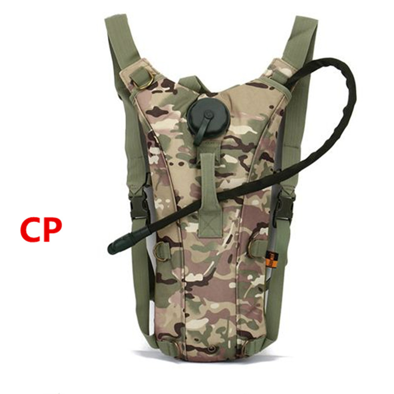 Outdoors Tactical Military Camouflage Water Hydration Carrier BackPack Shoulder Strap 2.5 L Bladder Bite Valve Drink Tube - Outdoor's Equipment store