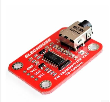 Free Shipping t1 PCS FM Radio Transmitter Module radio station transmitter for arduino Best quality(China (Mainland))