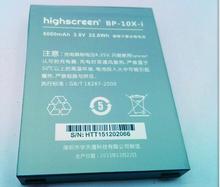 Original BP-10X-i Li-ion Polymer Battery 6000mAh For Highscreen Boost 2 II SE Innos D10 D10C D10F D10CF smart phone Bateria