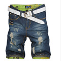28 38 large size men jeans shorts summer style denim short men fashion slim men s