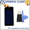 For Sony Xperia V LT25 LT25I LCD display touch screen with digitizer Assembly Free Tools Replacement
