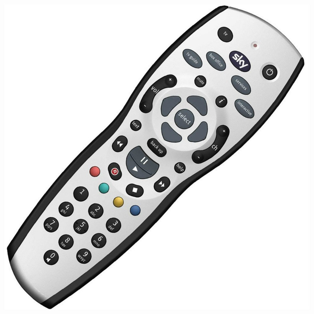ultra low-cost SKY HD Remote Control , SKY+ PLUS HD REMOTE CONTROL , NEW REV 9 LATEST SOFTWARE(China (Mainland))