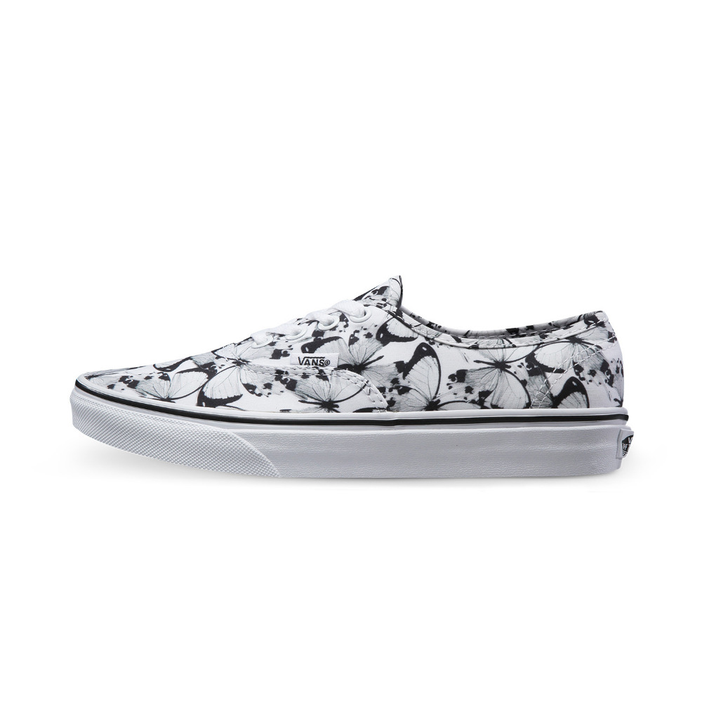Vans new arrival 2016 classic Butterfly Authentic men's and women's canvas shoes for unisex skateboarding sneakers free shipping(China (Mainland))