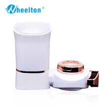 2016 new water Faucet filter water filter purifier alkaline water ionizer dechlorination 7 layers ABS shell white color filters(China (Mainland))