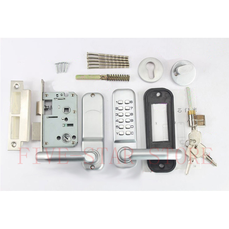Hotsale Mechanical Code Lock With Deadbolt Mortise And Key For Interior Door Security Free