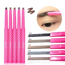 1pcs Women Ladies Waterproof Longlasting Brown Eyebrow Pencil Brow Eye Liner Pen Makeup Cosmetic Beauty Tools maquillage