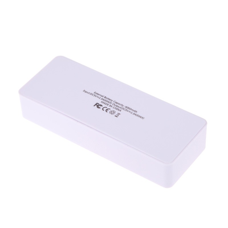image for Best Seller 2x 18650 USB Mobile Power Bank Battery Charger Box Case DI