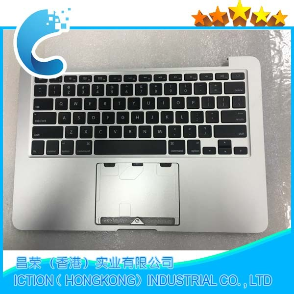 "Genuine Top Case Topcase Palm Rest With US Keyboard & Backlight for Macbook Pro Retina 13"" A1502 ME864 ME866 2013 2017"