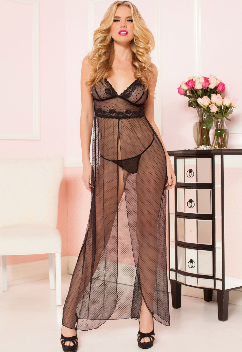 Aliexpress com buy dearlover nighties sexy lady exquisite black lace