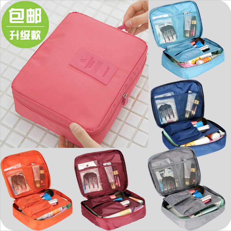2016 Nylon Multifunction Make Organizer bag Women Cosmetic bags Ourdoor Travel Bag Handbag Bolsas - Hongye cosmetic shop store