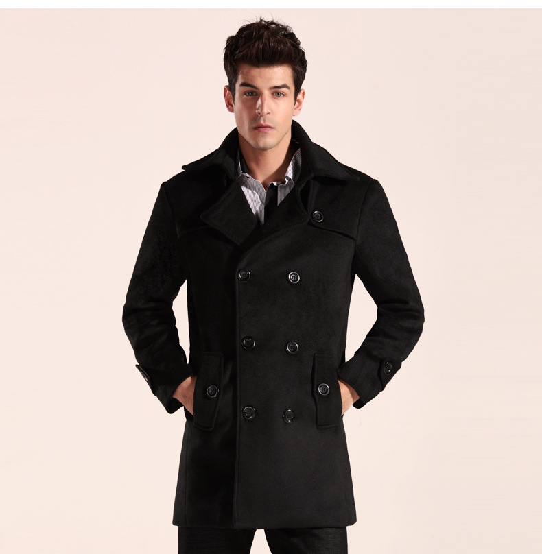 Mens black trench coats cheap – Novelties of modern fashion photo blog