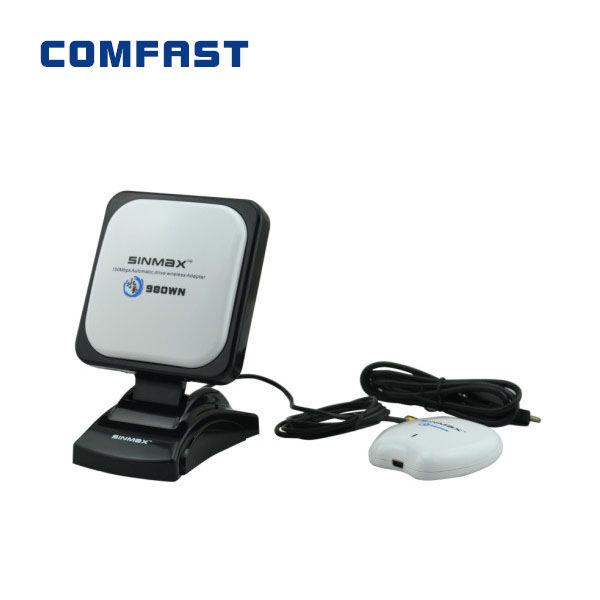 High power wifi usb adapter Sinmax SI-7300NA sky wireless antenna signal long range wifi adapter(China (Mainland))