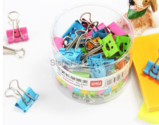 Stationery, Office Supplies, document folder, Foldback Clip, Cartoon smiling face, clips, binder clip, - Merit Lead Holdings Ltd. store