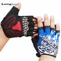 LongKeeper 2016 New Fingerless Gloves Special Design Gloves for Sports Gym Work Out Fitness Men Women