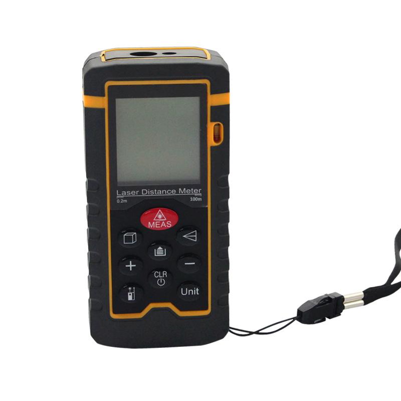 Laser Distance Meter 100m 328ft Rangefinder Measurer HT-100 Range Finder Medidor Measure Area/Volume Tool - Shenzhen Hiteam CO.,LTD store