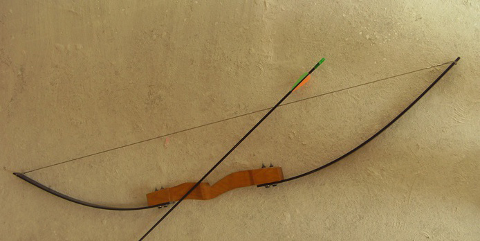 New 45 LBS 1 4m long bow Outdoor Sport Archery Traditional Take Down Hunting Shooting