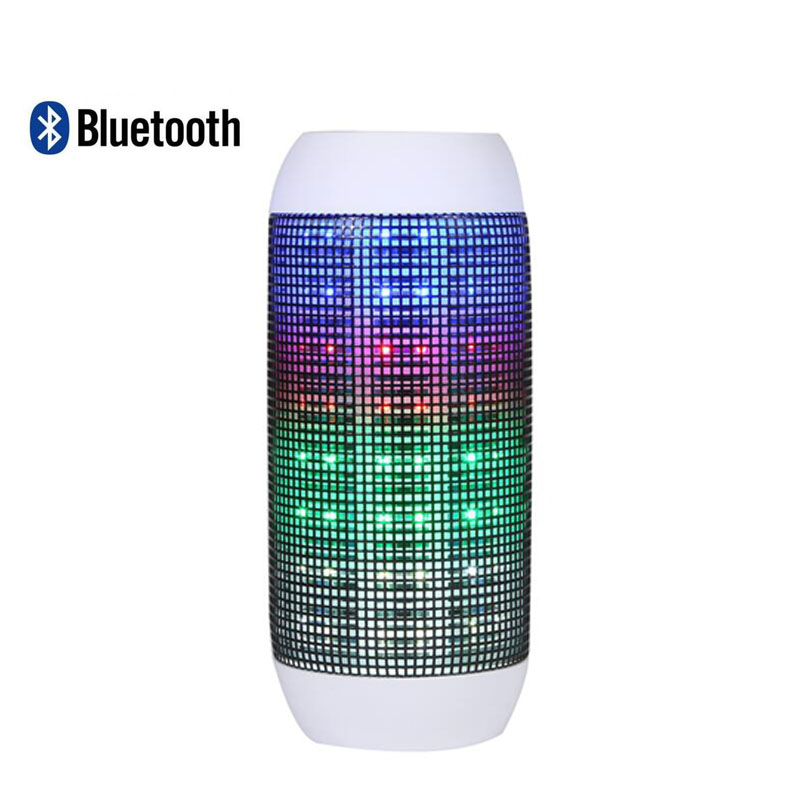 Pulse portable speaker card Y35 luminous pulsating music wireless speakers U disk player LED Bluetooth stereo support iapd(China (Mainland))