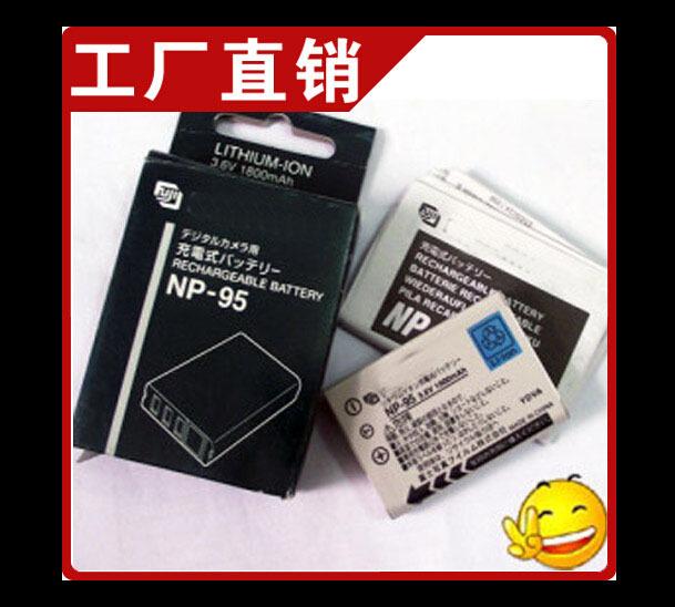 100% original new NP-95 FNP95 NP95 Camera Battery for FUJIFILM F30 F31 F30fd F31fd 3D W1 X100T X100S X100 Batteries celular(China (Mainland))
