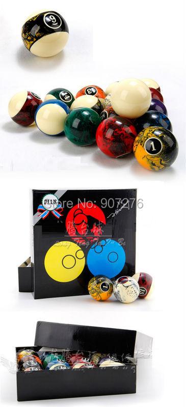 57mm marblized Pool ball billiard accessory(China (Mainland))