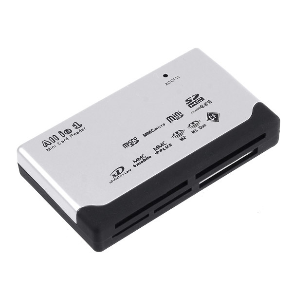 USB 2 0 ALL IN 1 Multi Micro CARD READER SD XD MMC MS CF SDHC