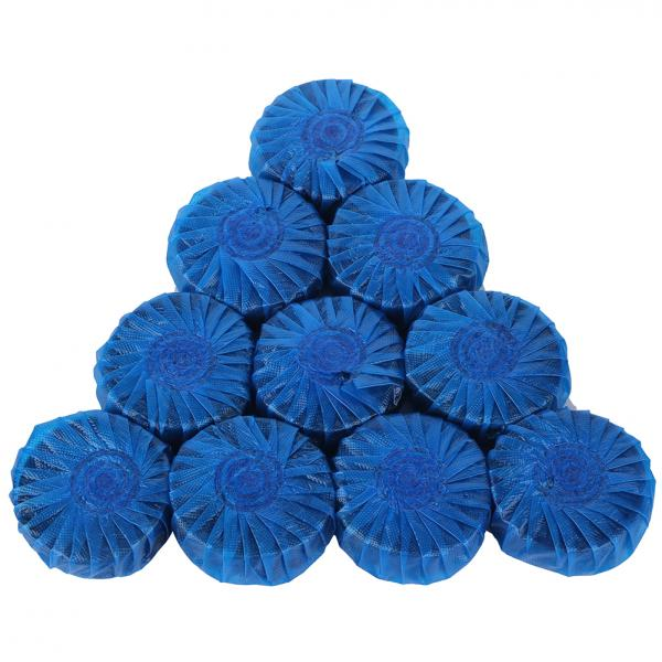 10x Blue Bubble Automatic Toilet Antibacterial Cleaning Tabs Cleaner(China (Mainland))