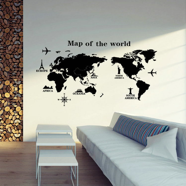 wall art bedroom home decorations wall decals gift in wall stickers