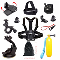 For Gopro hero 5 Sport camera accessories chest strap mount clamp kit for SJCAM go pro