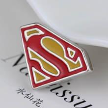 Iron Man Tony Stark Aku Cinta Anda 3000 Kali Lencana Bros Avengers Spider-Man Captain Marvel Thanos Pin bros Perhiasan(China)