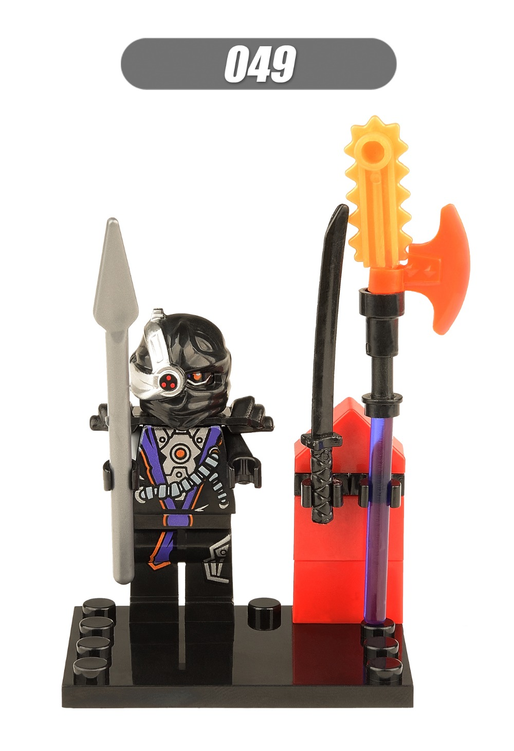 5XH049 General Cryptor Phantom Ninja Spinjitzu Force Awakens Minifigures Building Blocks Sets Toys