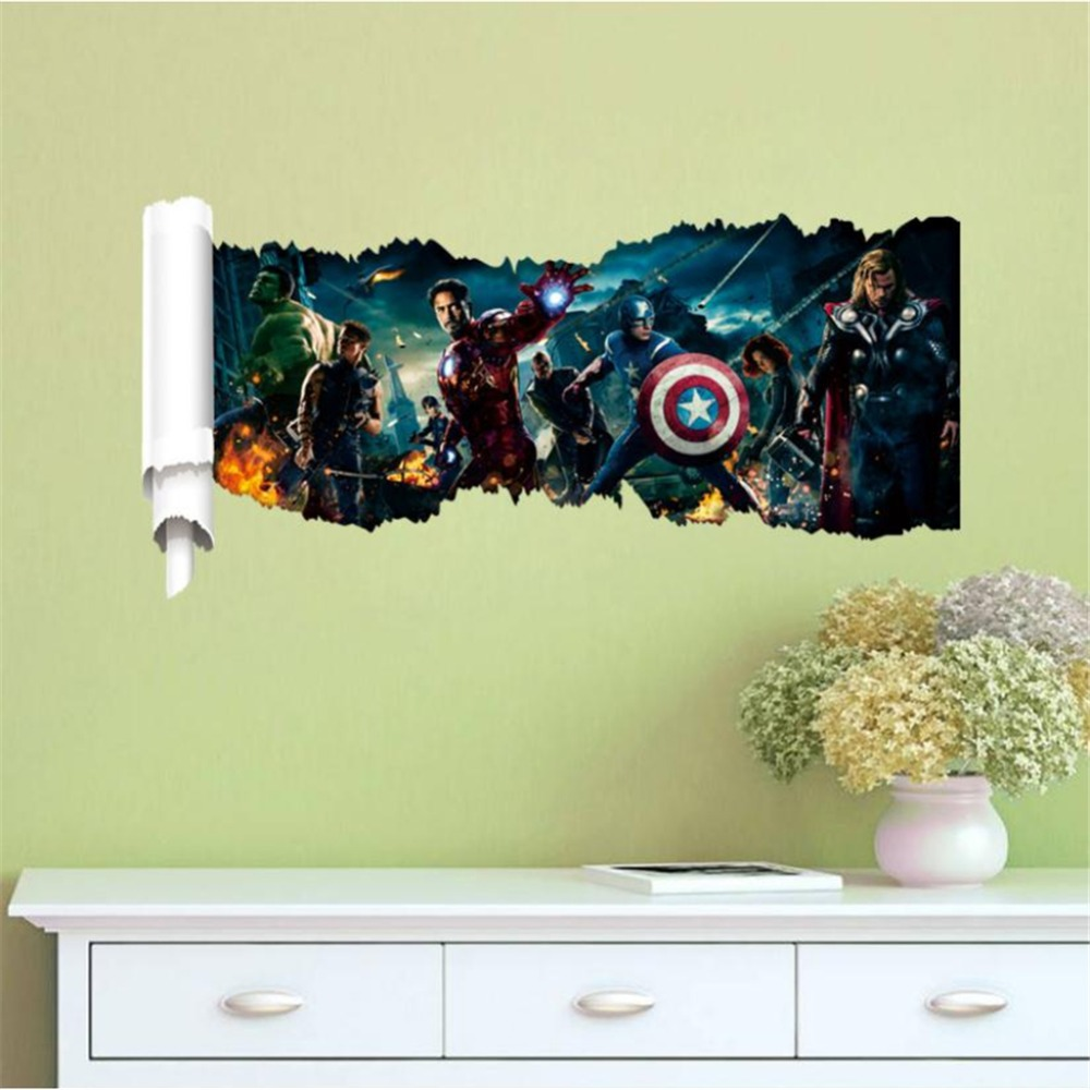 Famous Marvel Wall Decor Collection - The Wall Art Decorations ...