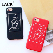 Buy LACK Fashion Abstract Brief Line Face Hard PC Phone Back Cover Case iPhone 6S Cases iPhone 6 6S 7 Plus 5 5s Capa Fundas U disk wholesale shop) for $1.49 in AliExpress store