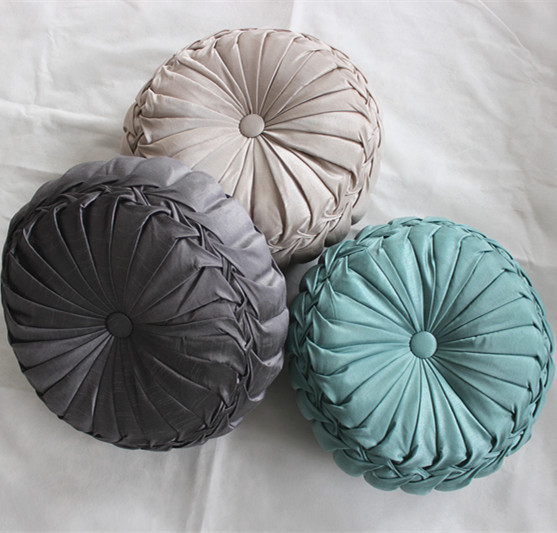 new arrival handmade round decorative cushions pillows throw pillow ...