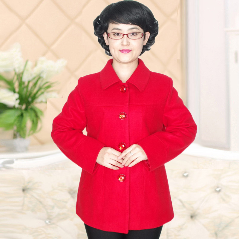 Large Size Middle aged women clothes Festive wedding mother coat Collectibles PMFY-1562X XL-9XL(China (Mainland))