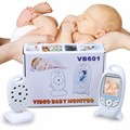 Fetal Doppler 2 0 inch Monitor Intercom IR Night vision Lullabies Temperature monitor Rechargeable Battery monitor