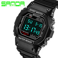 2016 Brand SANDA Fashion Watch Men G Style Waterproof Sports Military Watches Shock Men s Luxury