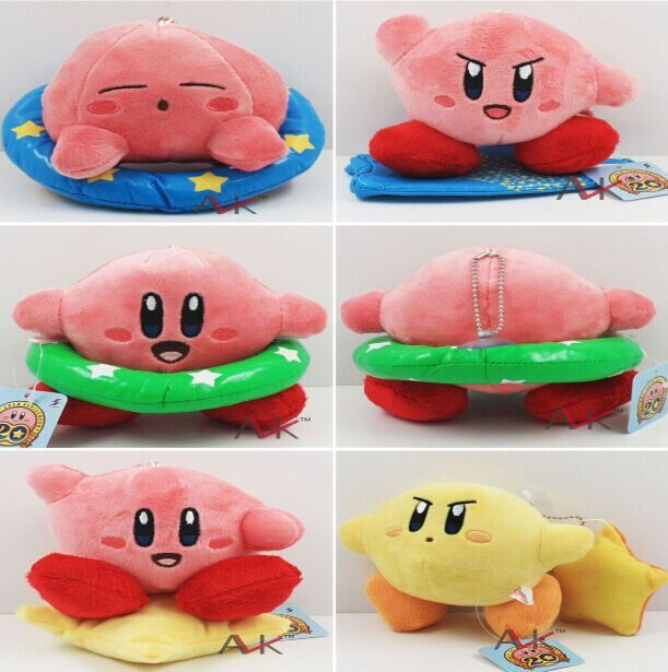EMS 120pcs Kirby Stuffed Plush Dolls With Tag Soft Toys For Children 410cm Wholesale<br>
