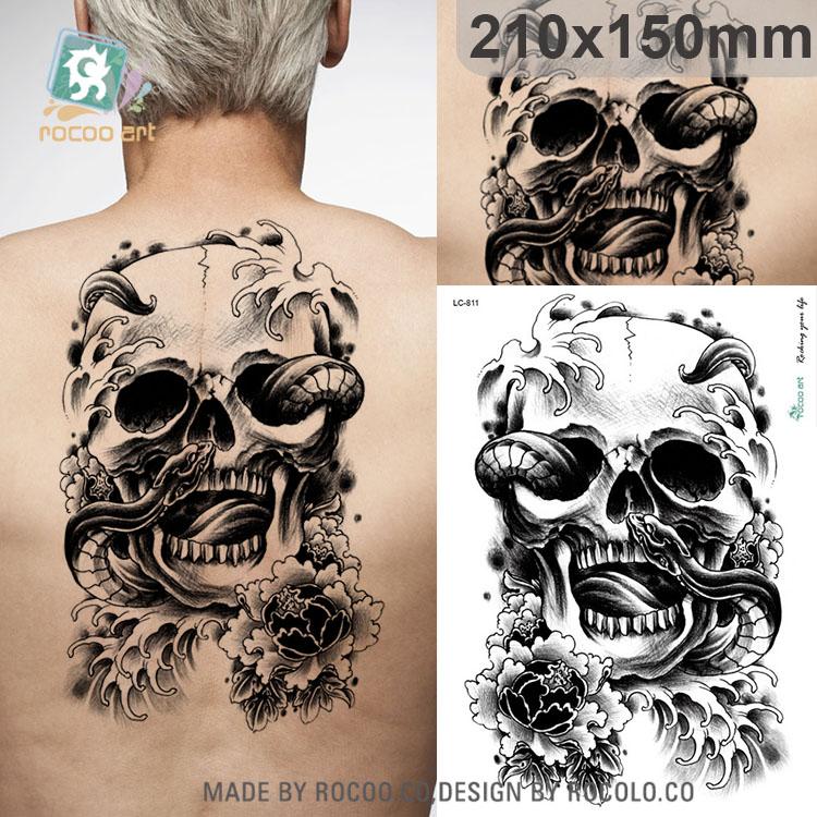 23 Online Kopen Wholesale Skelet Tattoo Ontwerpen Uit China