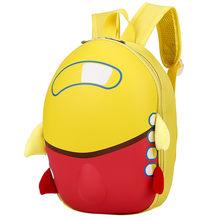 HIINST Детские баклажаны мультфильм самолет жесткий корпус плюшевые рюкзаки дети милый рюкзак малыш школьная сумка Прямая поставка CC #(China)