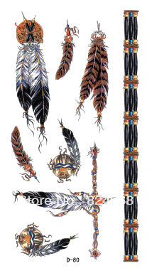 Fashion popular feather chain