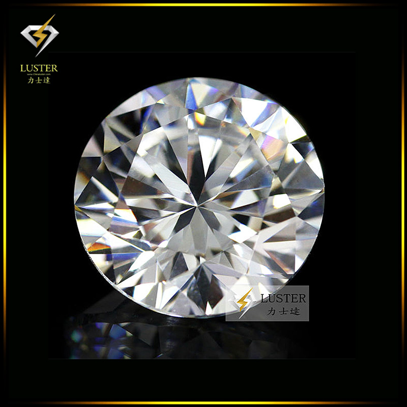 50pcs 1.0~2.0mm 5A Sample White Round Machine Cut Lab Created Loose Cubic Zirconia CZ Stone Synthetic Gems For Jewelry DIY(China (Mainland))