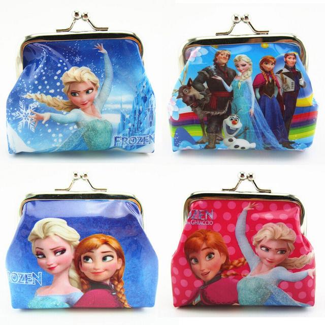 Горячая распродажа мультфильм детей портмоне принцесса эльза анна олаф площадь засов ...