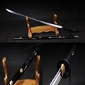 Hand Forge Vintage T10 Clay Tempered Sakura Samurai Sword Katana Sharp Edge Printing Saya