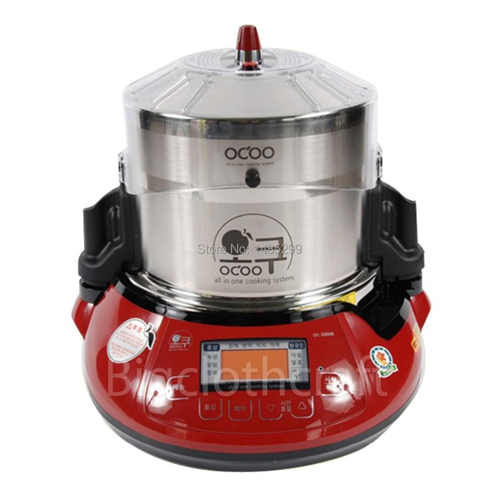 2015 OCOO OC-2000R Ginseng Cooking Machine Slow Cooker Steam Oven All-in-One(EMS Free Shipping Service)(China (Mainland))