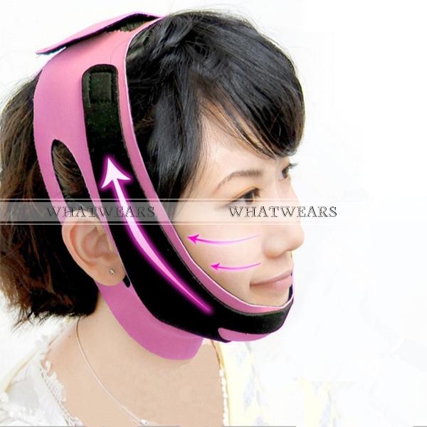 Face Lift Up Belt Sleeping Face-Lift Mask Massage Slimming Face Shaper Relaxation Facial Slimming Mask Face-Lift Bandage MB00041(China (Mainland))