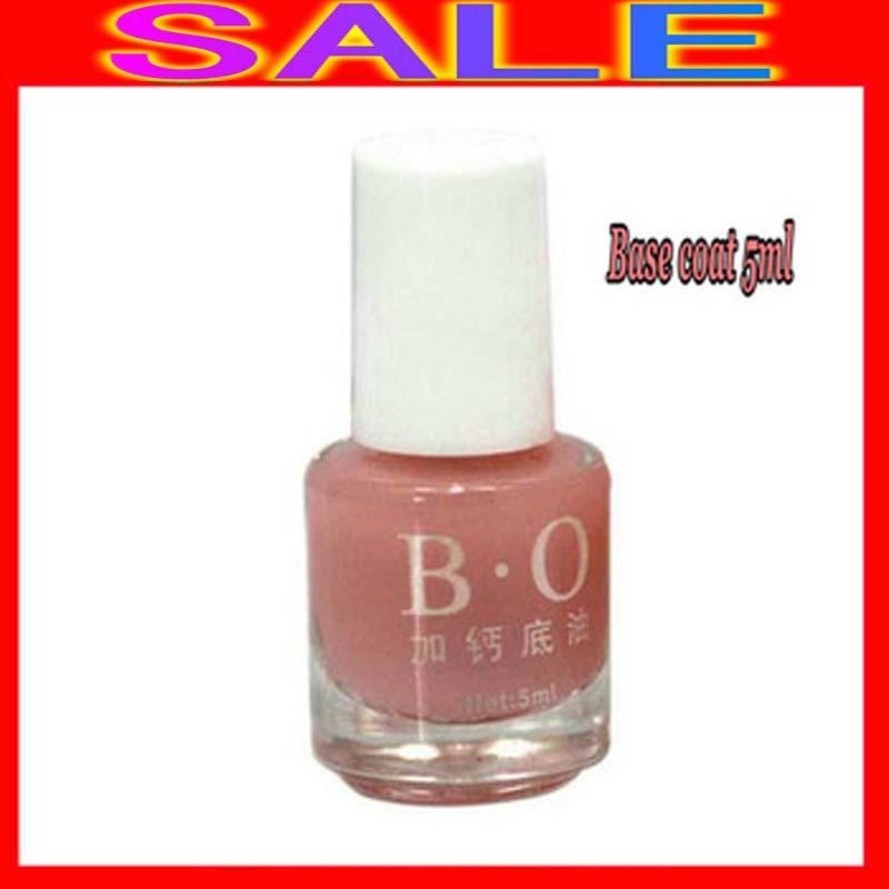 100pcs/lot Free Shipping EMS BO Nail Base Coat UV Nail Gel Nail Protective Polish Calcium Added 5ml<br>