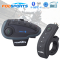 V8 BT Interphone with Remote Controller FM NFC 5 Riders Bluetooth Motorcycle Intercom 1200M Intercomunicador V8