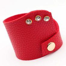 D&D Luxury Leather Bracelets Handmade Ethnic Tribal Genuine Charm Bracelet For Women Pulsera Black Bangles Femme Fashion Jewelry(China)