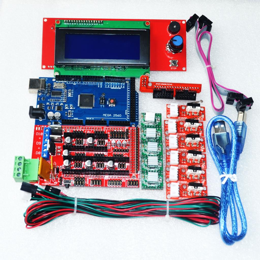 Cnc d printer kit for arduino mega r ramps